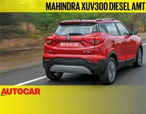 2019 Mahindra XUV300 diesel AMT video review