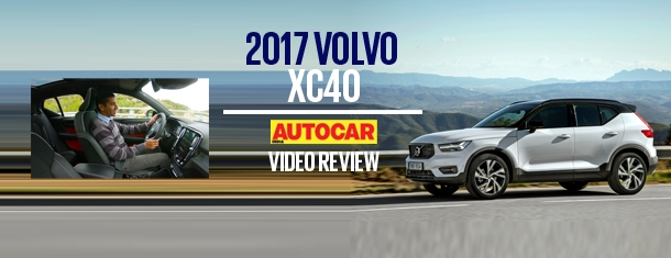 2017 Volvo XC40 video review