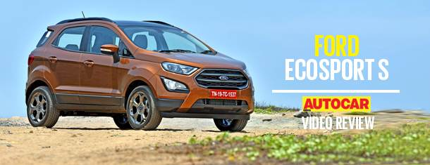 2018 Ford EcoSport S video review