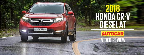 2018 Honda CR-V diesel AT video review