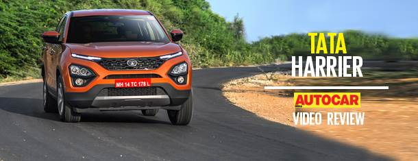 2019 Tata Harrier video review
