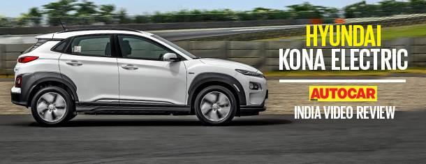 2019 Hyundai Kona Electric India video review