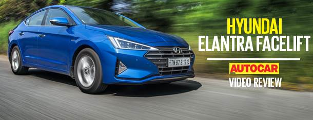 2019 Hyundai Elantra facelift video review