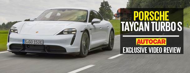 Porsche Taycan Turbo S video review