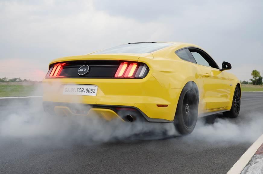 Mustang burnout