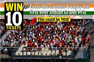 Indian GP tickets up for grabs