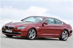 BMW 6-series coupe launched