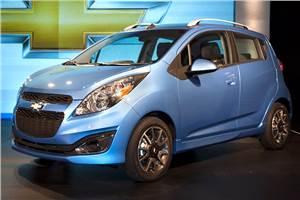 Chevrolet Beat facelift revealed