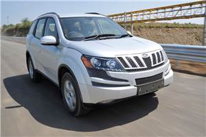 Mahindra XUV500 review, test drive