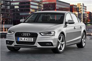 Updated Audi A4 breaks cover