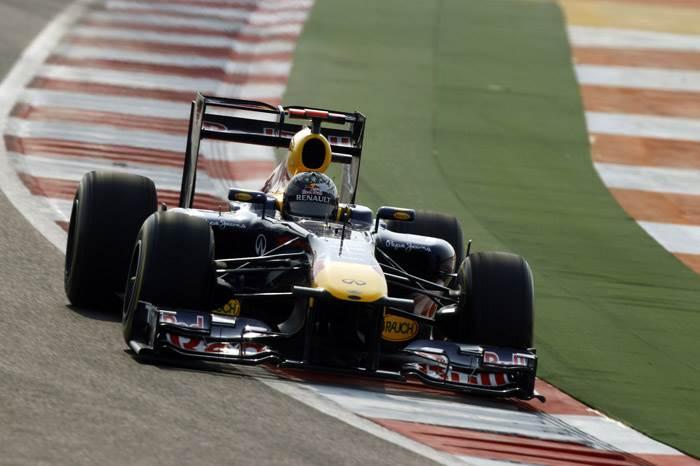 Vettel on top in Indian GP final practice