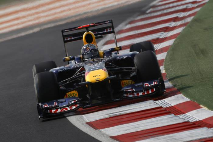 Vettel in pole position for Indian GP