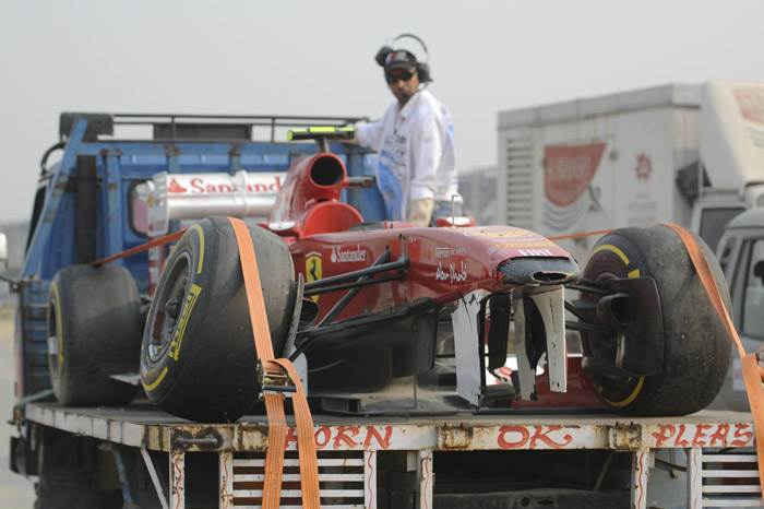 Some kerbs not suitable for high speed - Massa