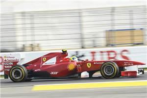Massa tops second Indian GP practice