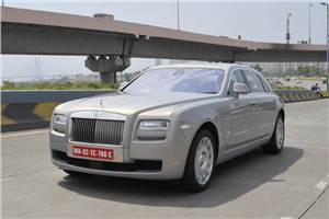 Rolls Royce Ghost EWB review