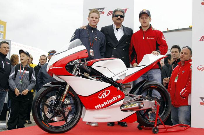 Mahindra unveils 2012 Moto3 challenger