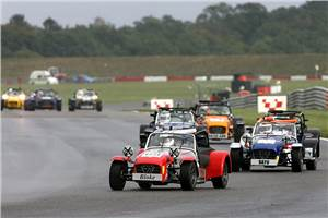 Caterham racing academy in 2012