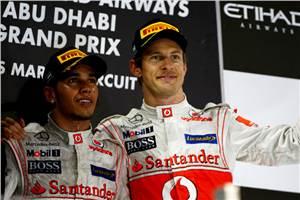 Hamilton, Button eyeing win in Brazil