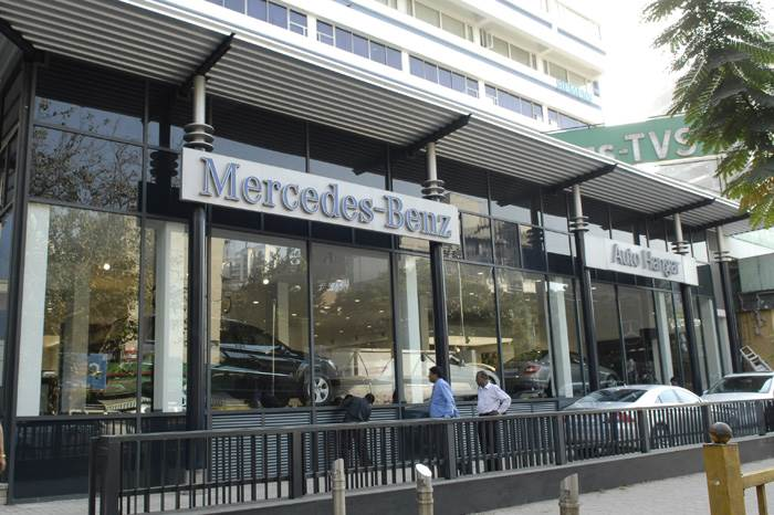 New Merc showroom for Mumbai