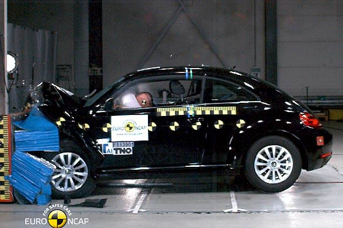 VW Up scores top safety rating