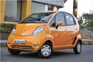 Tata Nano 2012 review, test drive