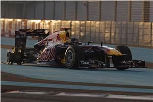 Vettel happy tyre failure not his fault