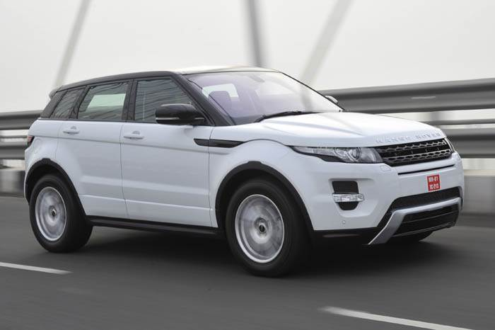 Range Rover Evoque review, test drive