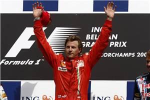 Raikkonen returns to F1 in 2012