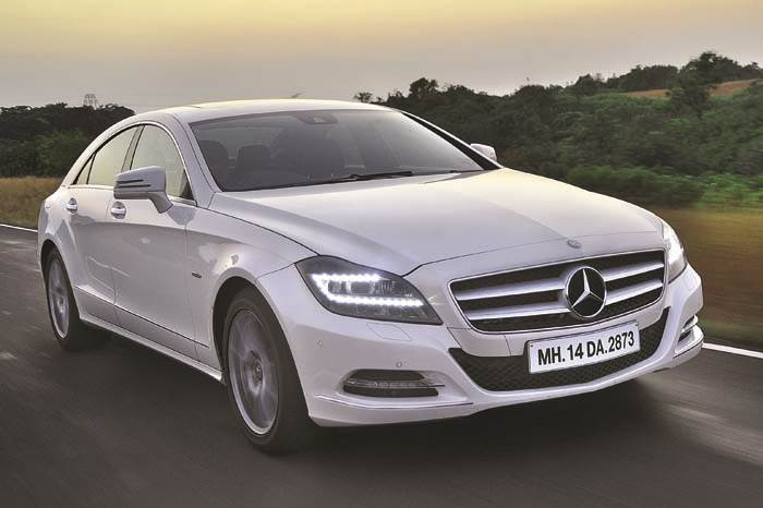 Mercedes CLS 350 review, test drive