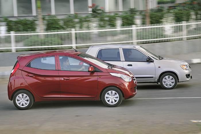 Hyundai Eon vs Maruti Alto