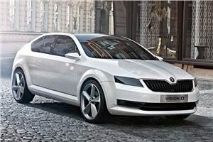 New pictures of Skoda VisionD
