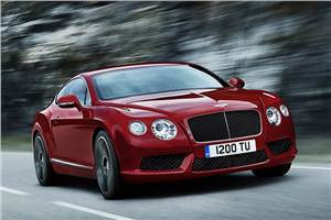Bentley reveals new V8 engine