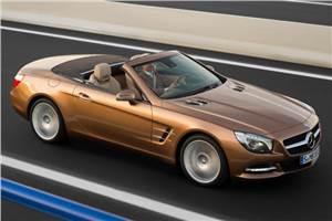 New Mercedes SL-class pics leaked