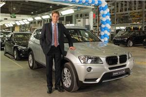 20,000th BMW rolls off the line