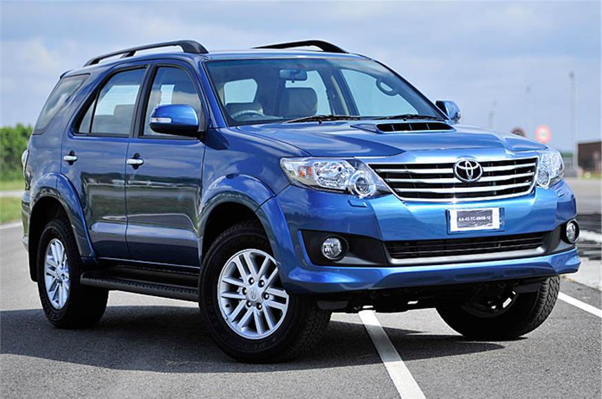 New Toyota Fortuner Automatic.
