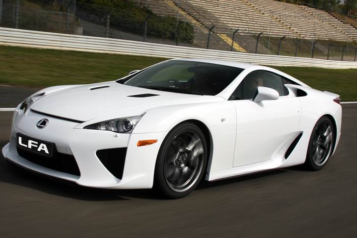 Lexus LFA review, test drive