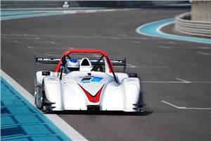 Frentzen tops i1 series pre-season test