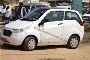 Mahindra Reva spy pics