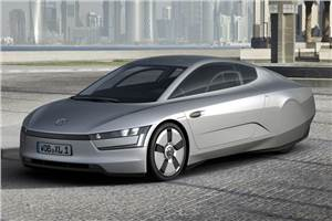 VW XL1 concept headed for Expo '12