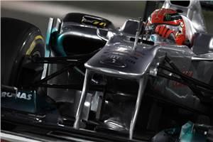 Schumacher Formula 1's top overtaker in 2011