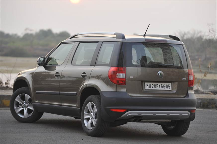 skoda yeti 4x2 review test drive autocar india. Black Bedroom Furniture Sets. Home Design Ideas