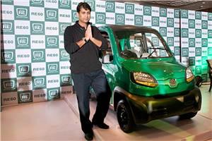 Bajaj's RE60 four-wheeler revealed