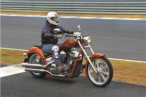 Honda VT1300CX Fury review, test ride