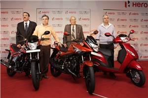 Hero MotoCorp unveils new products