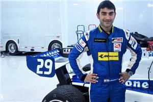 Armaan Ebrahim confirms 2012 Indy Lights drive