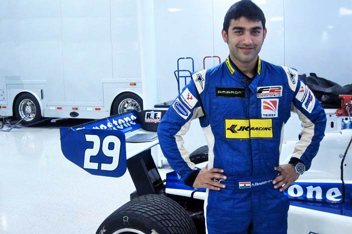 Armaan first tested with Indy 500-winning squad Bryan Herta Autosport in September 2011.