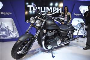 Triumph rides into India, superbly priced