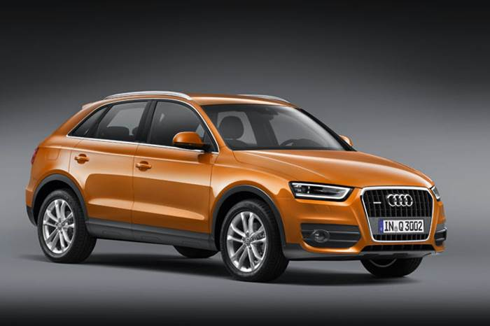 Audi's Q3 compact SUV debuts at the Expo