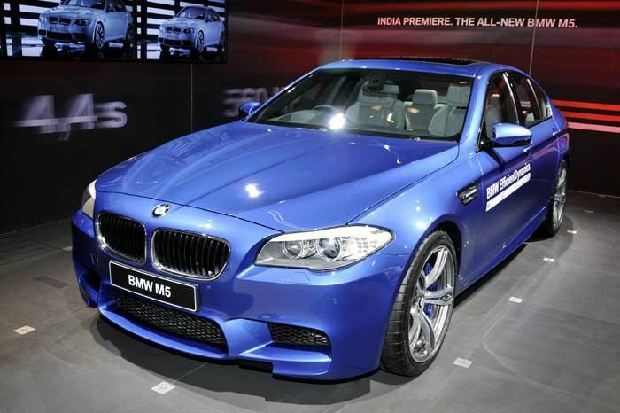 BMW launches M5 sport saloon