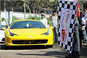 Parx Supercar Parade is here